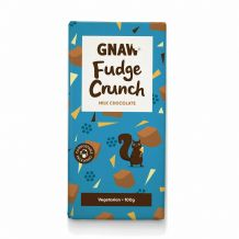 Gnaw  Fudge Crunch Milk Chocolate Bar
